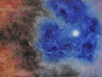 SELL【原画】アイリス星雲(シート販売)の画像
