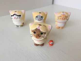 今年こそ干支になりたい猫さん(茶トラ)の画像