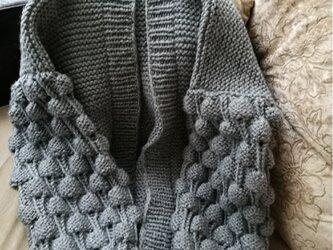 海外テイストのデザインセーター♡02 受注生産になりますの画像