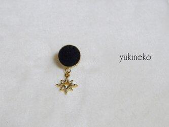 アロマブローチ(ピンズ)金の星の画像