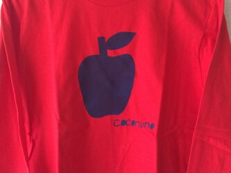 ココヌノプリントTシャツ(りんご)の画像