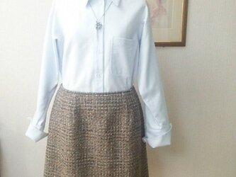 セミタイトスカート(ファンシーラメツィード)の画像