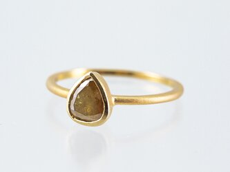 Natural Diamond Ring / Pear Shapedの画像