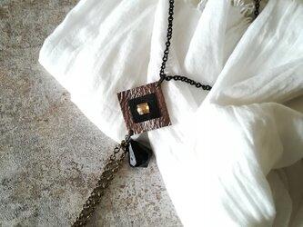 ロングネックレスの画像