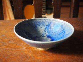 zao blue  平茶碗  夏茶碗 の画像