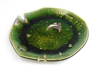 織部 プレート皿①の画像