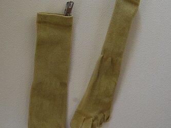 草木染め靴下 「あざみ」の画像