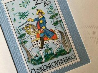 ちいさなartmuseum Czech stamp  の画像