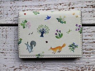 カードケース「野の花と生きもの」(受注生産)の画像