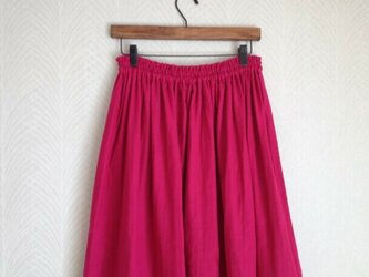 Wガーゼ(ラズベリー) ロングスカートの画像