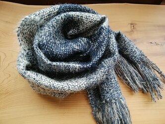 再販・手織りマフラーの画像