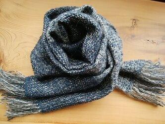再販・手織りマフラー2の画像