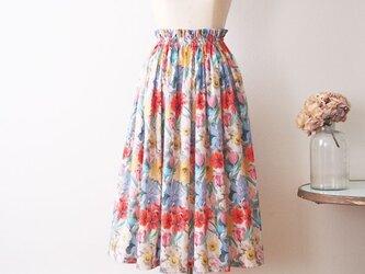 2018s/s 新作 Liberty:Meadow Melody 着こなし上手な上品ロングスカートの画像