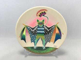色鉛筆イラスト「Bat」の画像