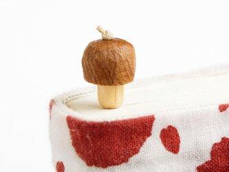 木製きのこしおり(ブックマーカー)の画像