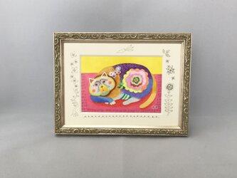 色鉛筆イラスト作品「チック」の画像