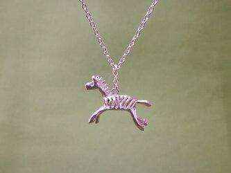 ネックレス「savanna シマウマ」の画像