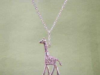 ネックレス「savanna キリン」の画像