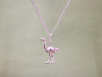 ネックレス「savanna ダチョウ」の画像