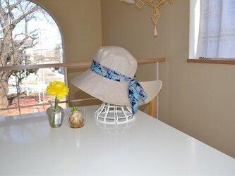 リネン リバティ ベーシック  帽子  57〜59cmの画像