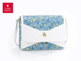 ribbon bag《 flower 》の画像