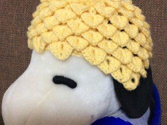 【受注製作】1歳用パイナップル帽子の画像