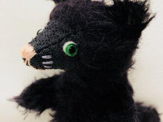 シャトン・トリュフ 子猫のぬいぐるみ ギフト プレゼント ねこ クロネコの画像