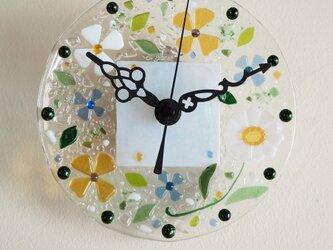 【即納】ミニ壁掛け時計(ひだまり)の画像