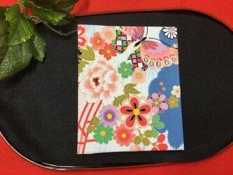 和物カードケース36枚入【蝶花満開】の画像