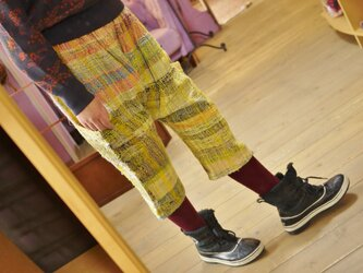 ◆SALE◆手織り サルエルパンツの画像