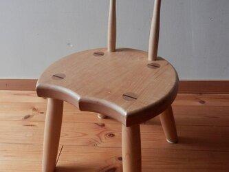小椅子 ch0711 カエデ① 子ども椅子の画像