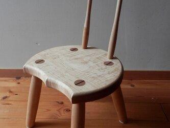 小椅子 ch0711 カエデ② 子ども椅子の画像