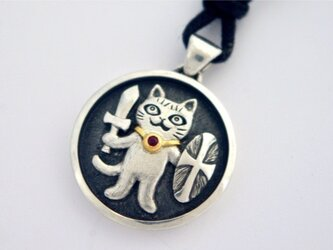 お守り猫 ペンダント  PⅤの画像