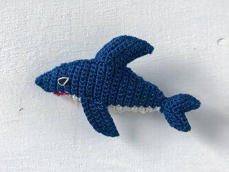 どうぶつブローチ - サメの画像