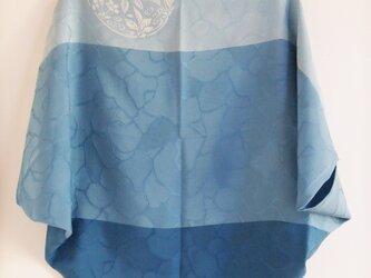 型染め羽織-blue-の画像