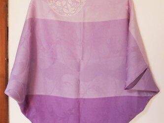 型染め羽織-purple-の画像