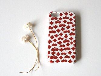 ハード型スマホケース flower and butterfly ( brown )【iPhone/Android各機種対応】の画像
