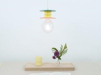 イエローピンクペンダントランプ Frutti Lampの画像
