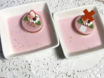 SAKURAケーキのアクセサリートレイの画像