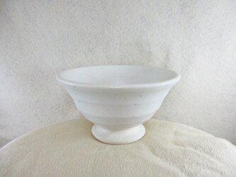 陶器ご飯茶碗(大)藁白釉の画像