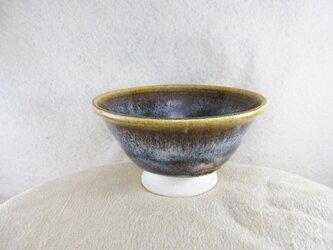 陶器ご飯茶碗(中)朝鮮唐津風の画像