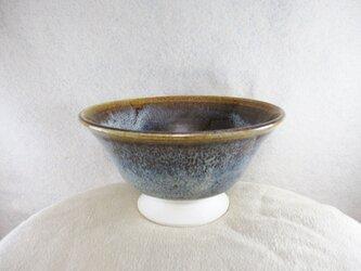 陶器お茶漬け茶碗 朝鮮唐津風の画像