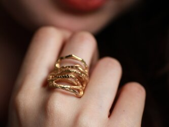 Lacuna-Bony ring-Goldの画像