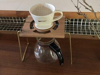 コーヒー ドリップスタンド Coffee ハンドドリップ用1ポイント 珈琲 おしゃれ ギフト 贈り物 his-0165の画像