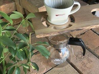 コーヒー ドリップスタンド Coffee ハンドドリップ用2ポイント 珈琲 おしゃれ ギフト 贈り物 his-0171の画像