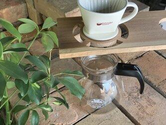 コーヒー ドリップスタンド Coffee ハンドドリップ用2ポイント 珈琲 おしゃれ ギフト 贈り物 his-0172の画像