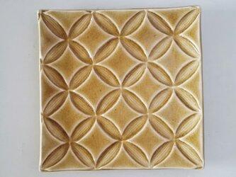 綾series/角皿Msize(caramel)の画像