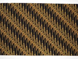 ジャワ更紗生地 BATIK生地 綿100% 0.98m×2.35mの画像