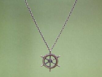 ネックレス「舵輪」の画像