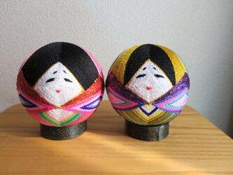 ちび柳川まり  雛飾りの画像